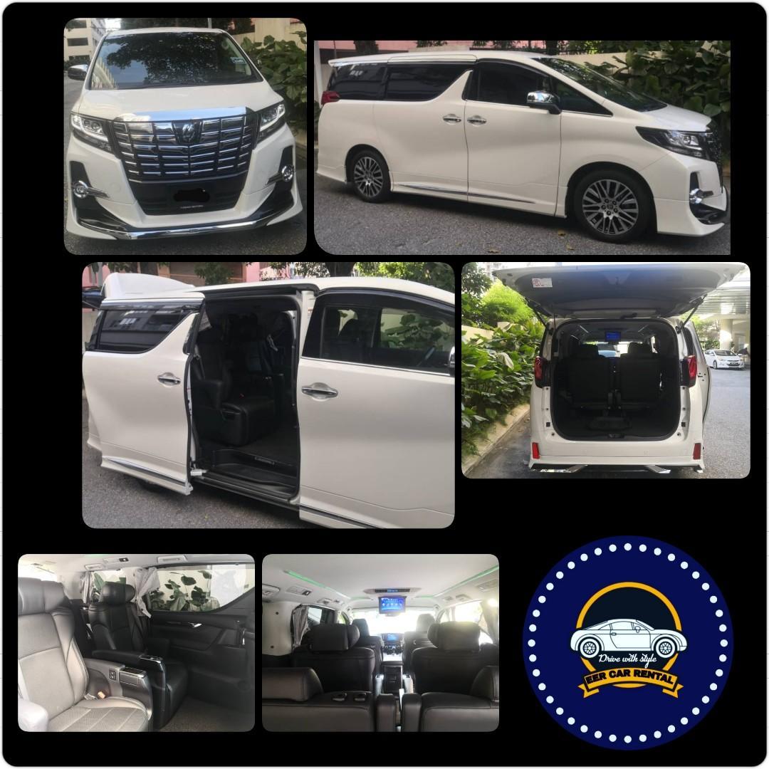 Toyota Alphard 2.5 (A) Robot MPV Luxury Car Rental Selangor KL