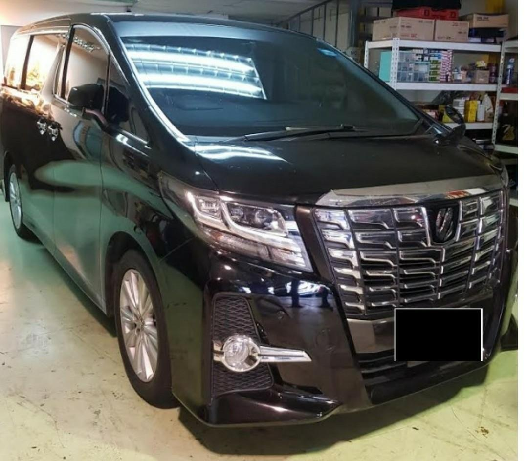 Toyota alphard HS/black