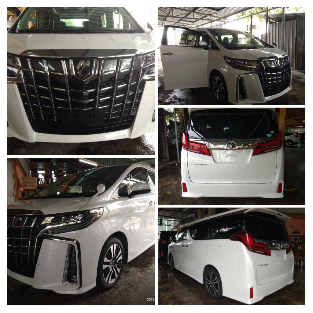 TOYOTA ALPHARD SC 2.5CC  YEAR~2017 RECON LOCAL AP~KL, Unregistered✔ 👍INT BLACK, 👍2 MONTOR,  👍M/FUNNC, 👍2 PWR DOOR,  👍PWR BOOT, 👍SUNROOF, 👍MOON ROOF, 👍👍PARK SENSOR,  On the road  PRICE~RM276,888.88☺HP0122367272SENGSENG☺🙏