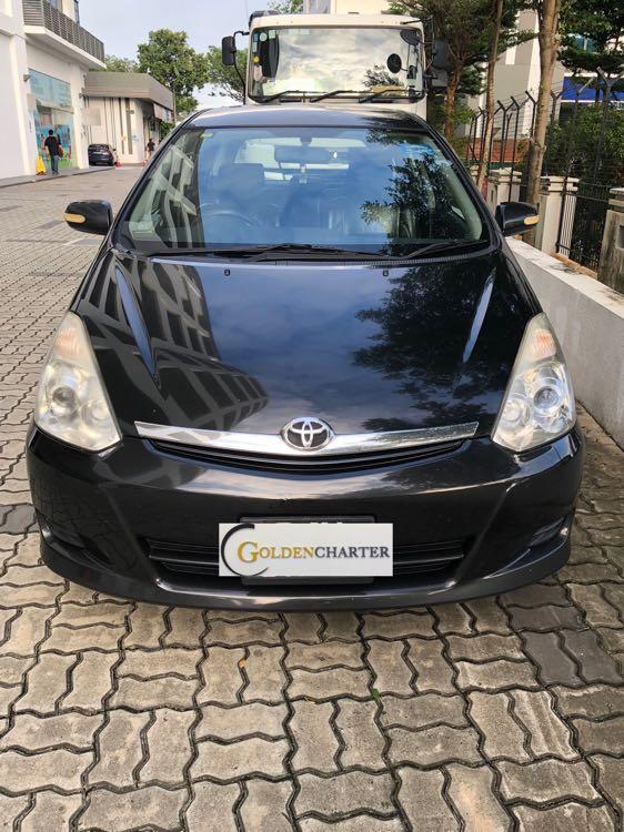 Toyota Wish For Rent ! Gojek Rebate, Personal , Grab
