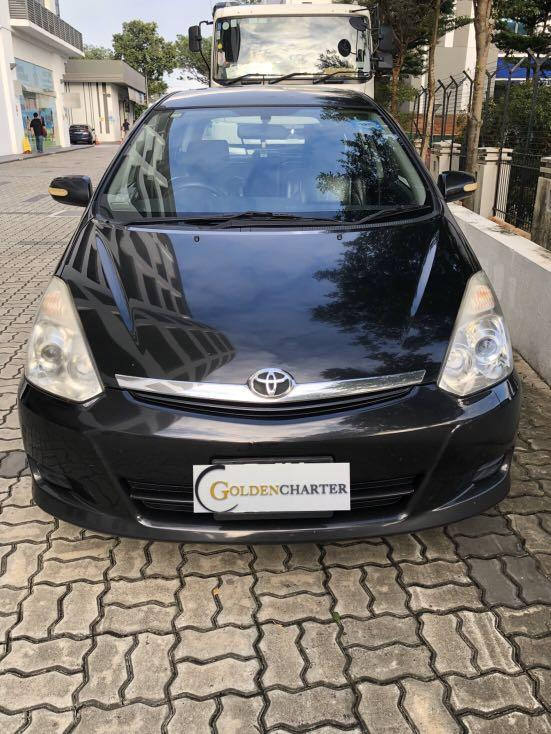 Toyota Wish For Rental already Now! Gojek / Grab | Personal Rent