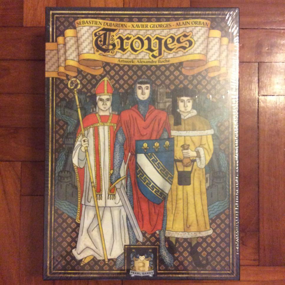 Troyes Brand New /& Sealed