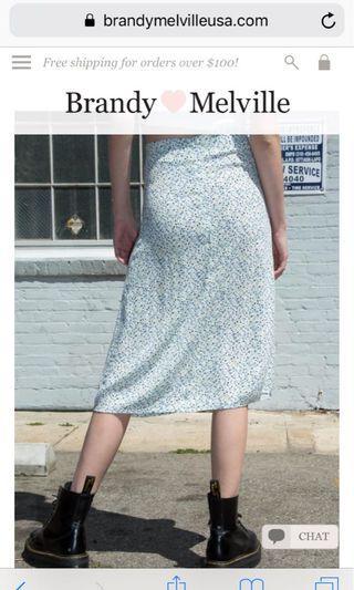 Brandy Melville Phoebe midi skirt