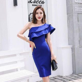 韓版修身洋裝