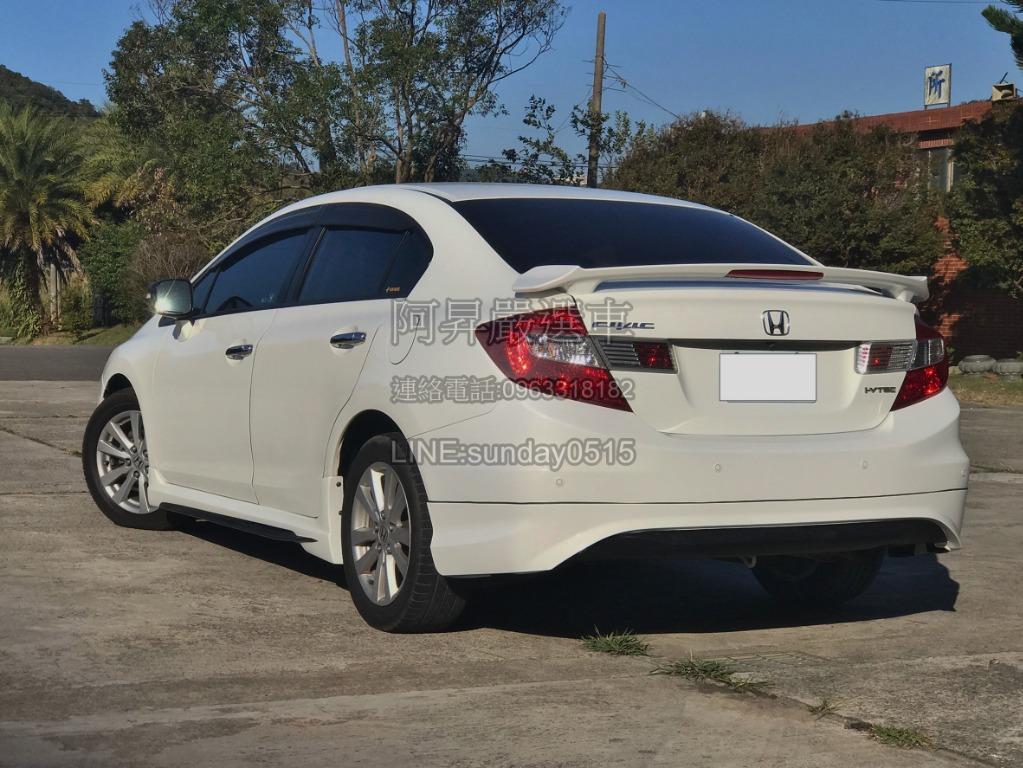 2012 本田 Civic9 K14 1.8VTI-S