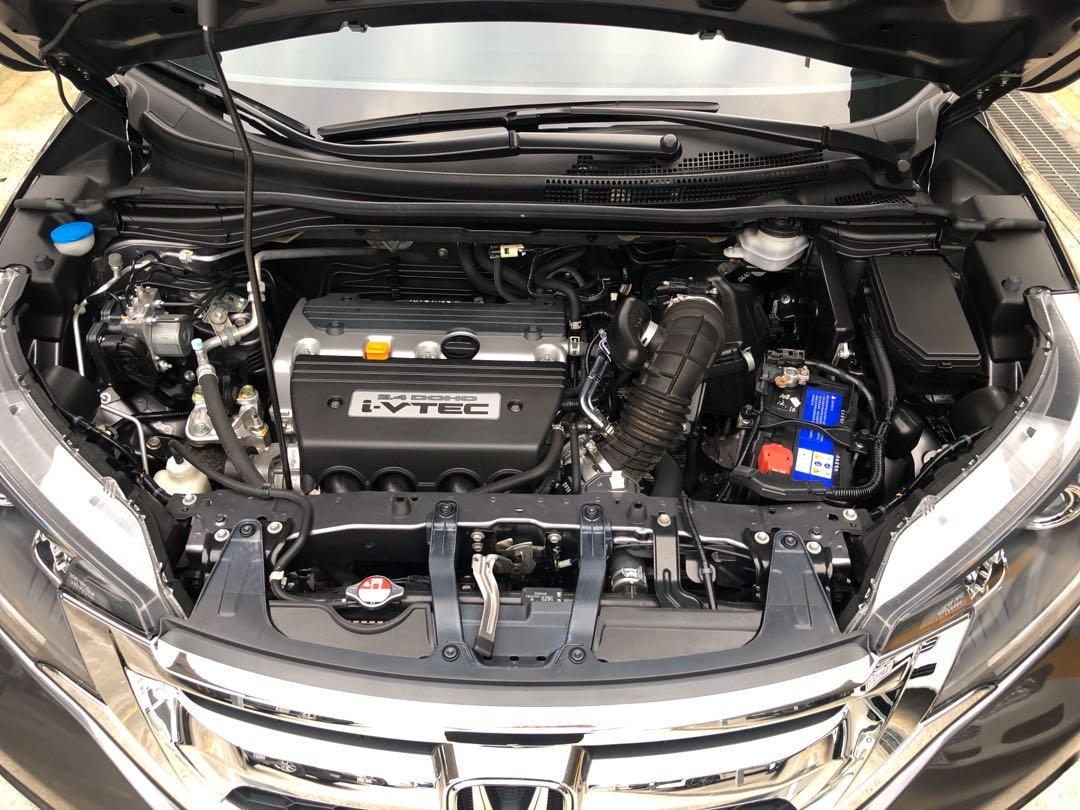 2017 出廠 Honda CRV 2.4 VTi-S  實跑18000km