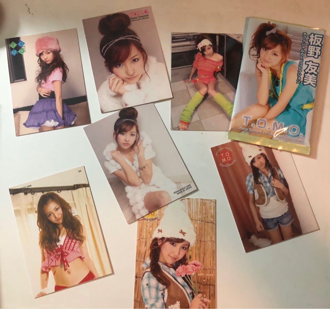 AKB48 官方生寫 小卡 主板野友美 多田愛佳