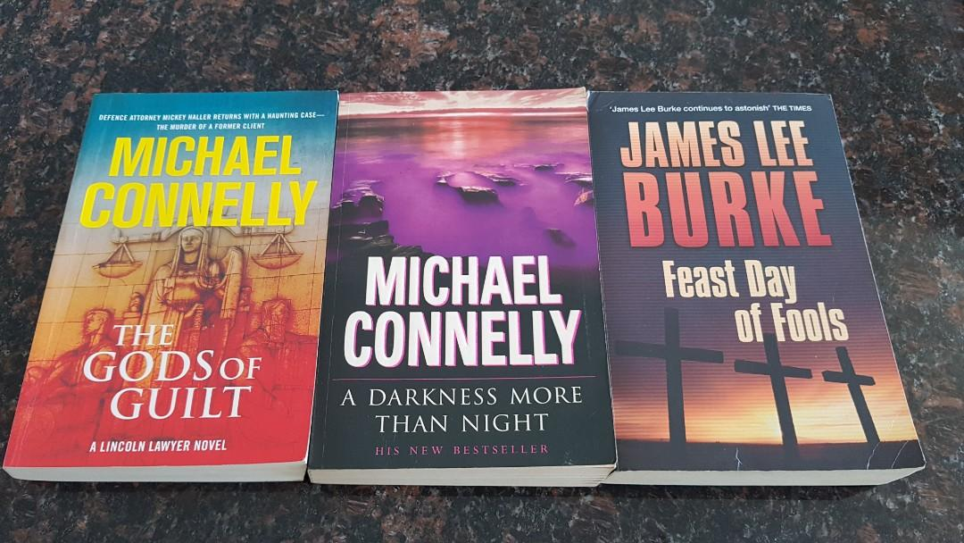 BESTSELLERS BY MICHAEL CONNELLY  & JAMES LEE BURKE