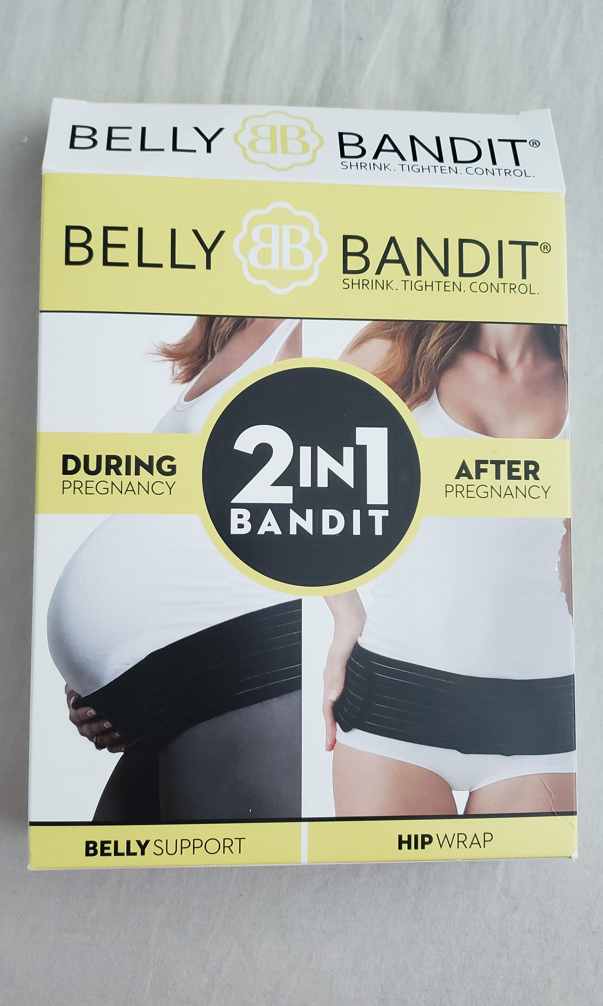 BNIB Maternity belt Belly Bandit 2-in-1 - Size 1, Black