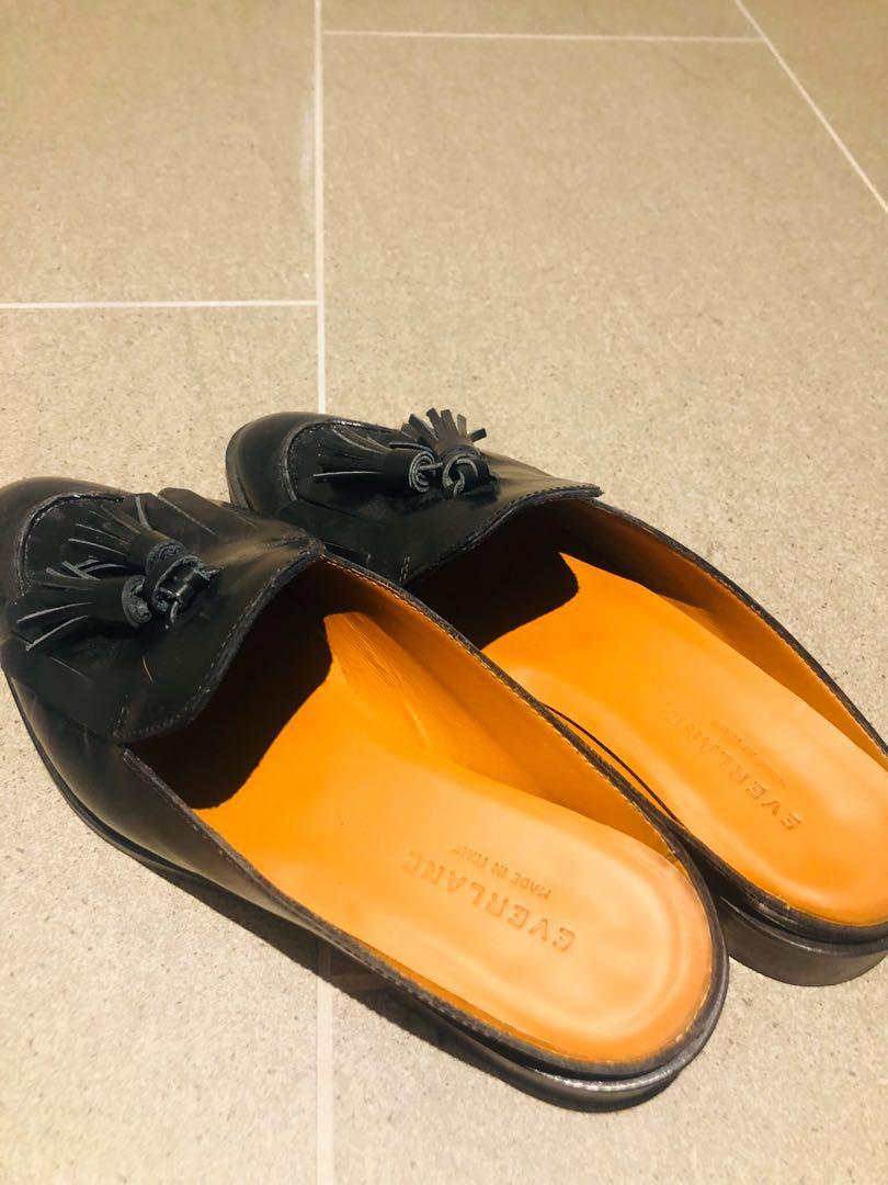 Genuine leather shoes - everlane loafer - worn twice close to new! RRP250
