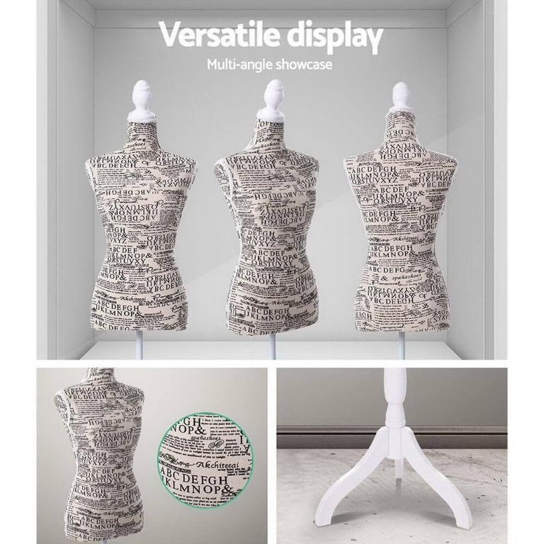 Female Mannequin 170cm Model Dressmaker Clothes Display Torso Tailor Wedding Canvas Cover