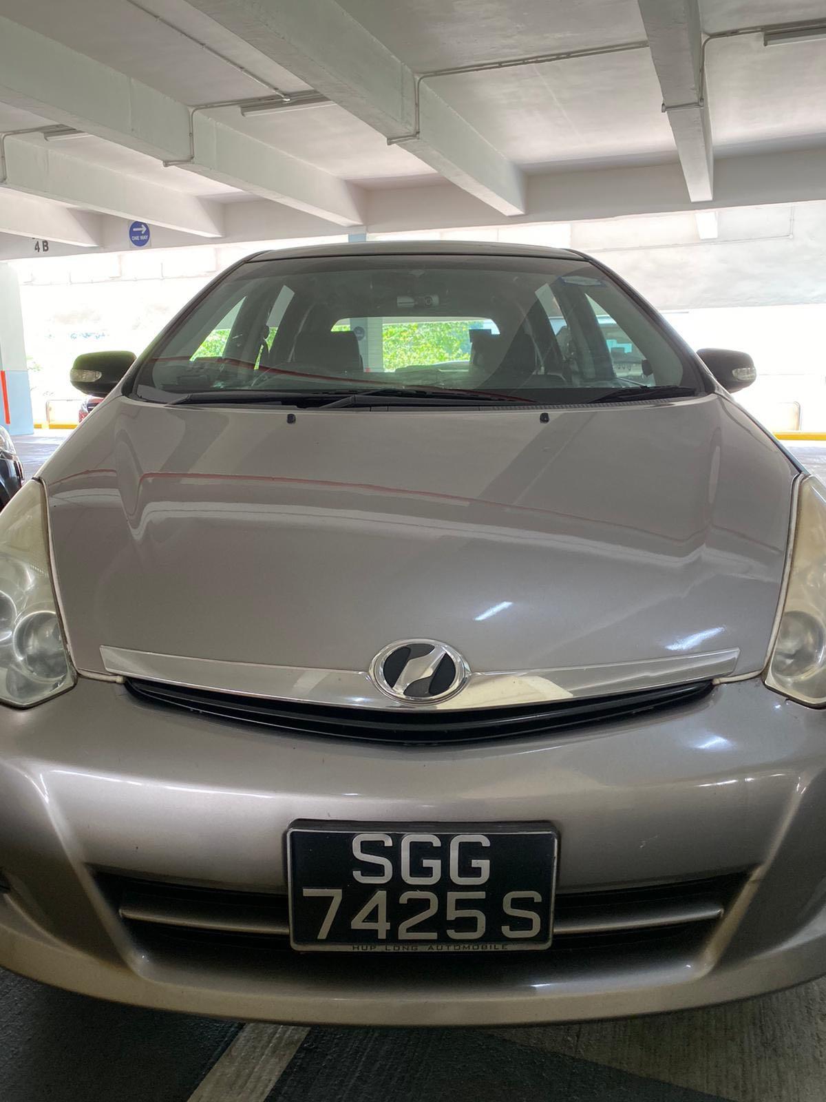Grab/GoJek Relief Needed @ Bukit Panjang/CCK. Morning Shift. Toyota Wish 1.8A 6-Seater. Whatsapp 88567422