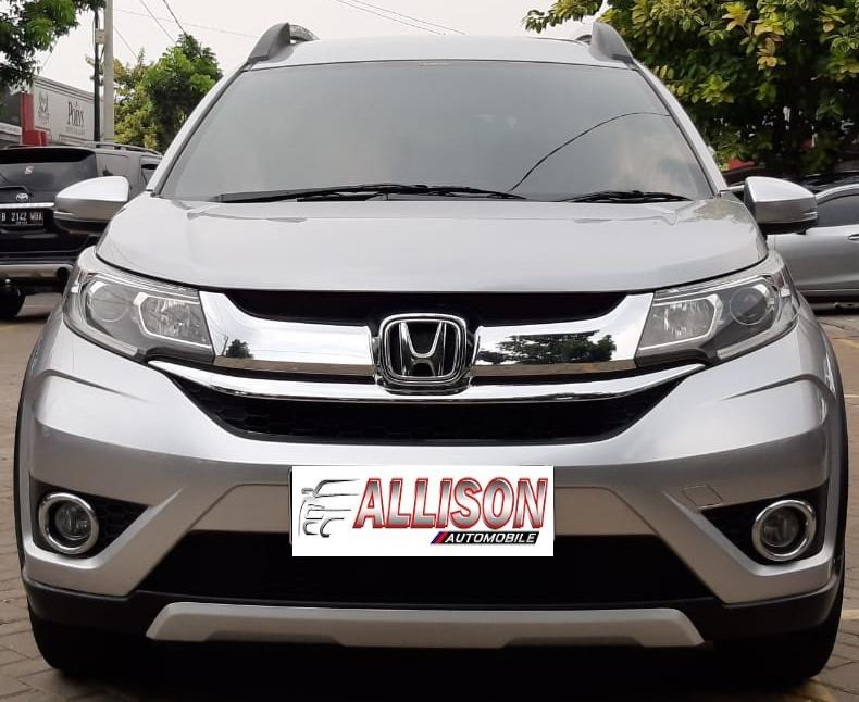 Honda BRV 1.5 E AT Silver Dp 11,9 Jt No Polisi Ganjil