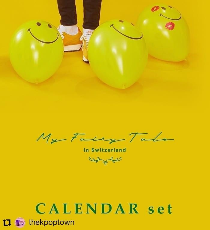 LEE JIN HYUK MY FAIRY TALE in Switzerland Photobook (CALENDAR SET .)