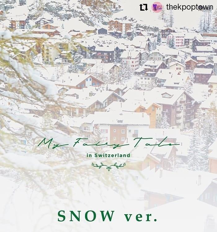 LEE JIN HYUK MY FAIRY TALE in Switzerland Photobook (SNOW VER.)