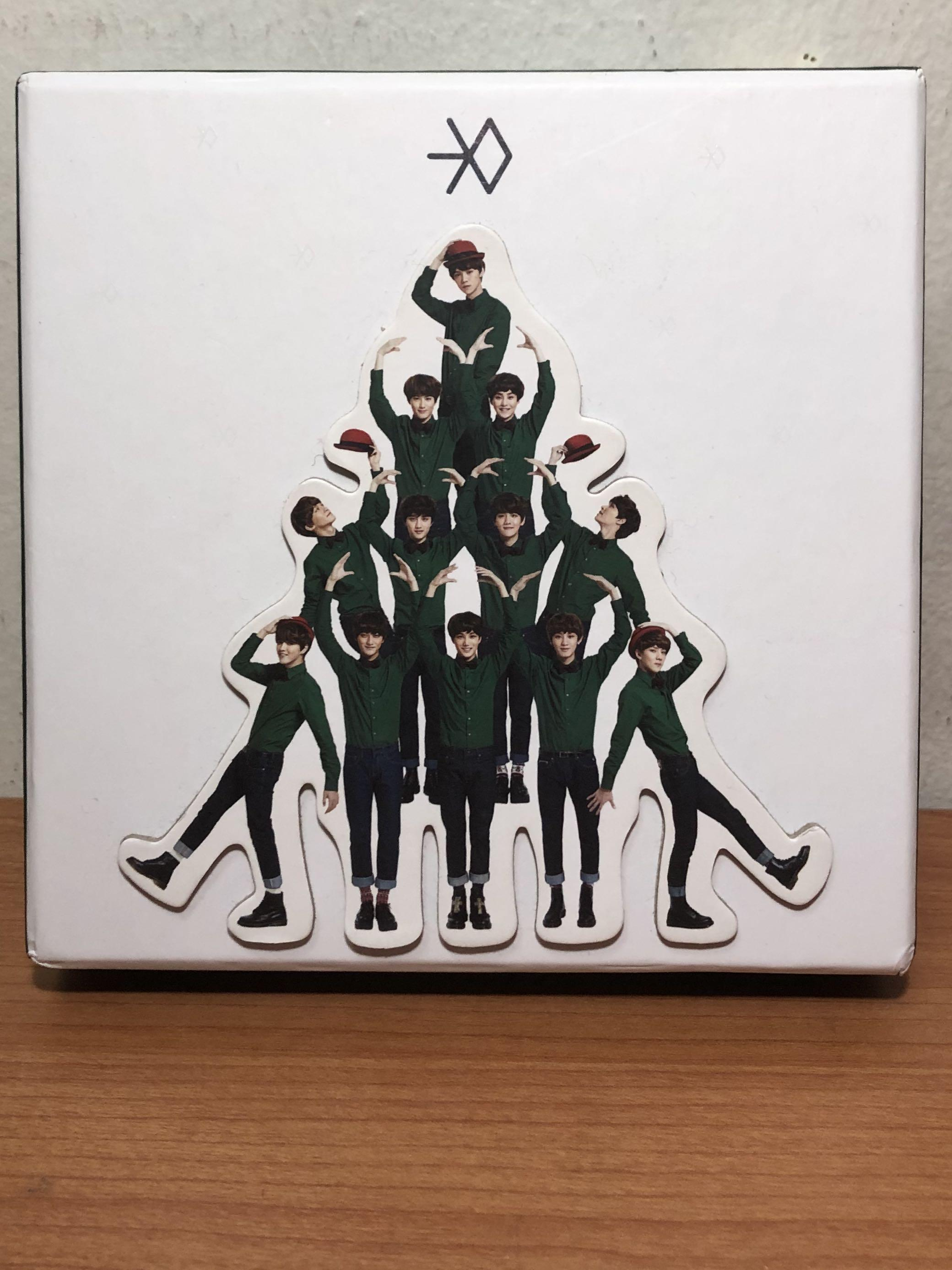 Limited Edition: EXO Miracles in December Winter Album
