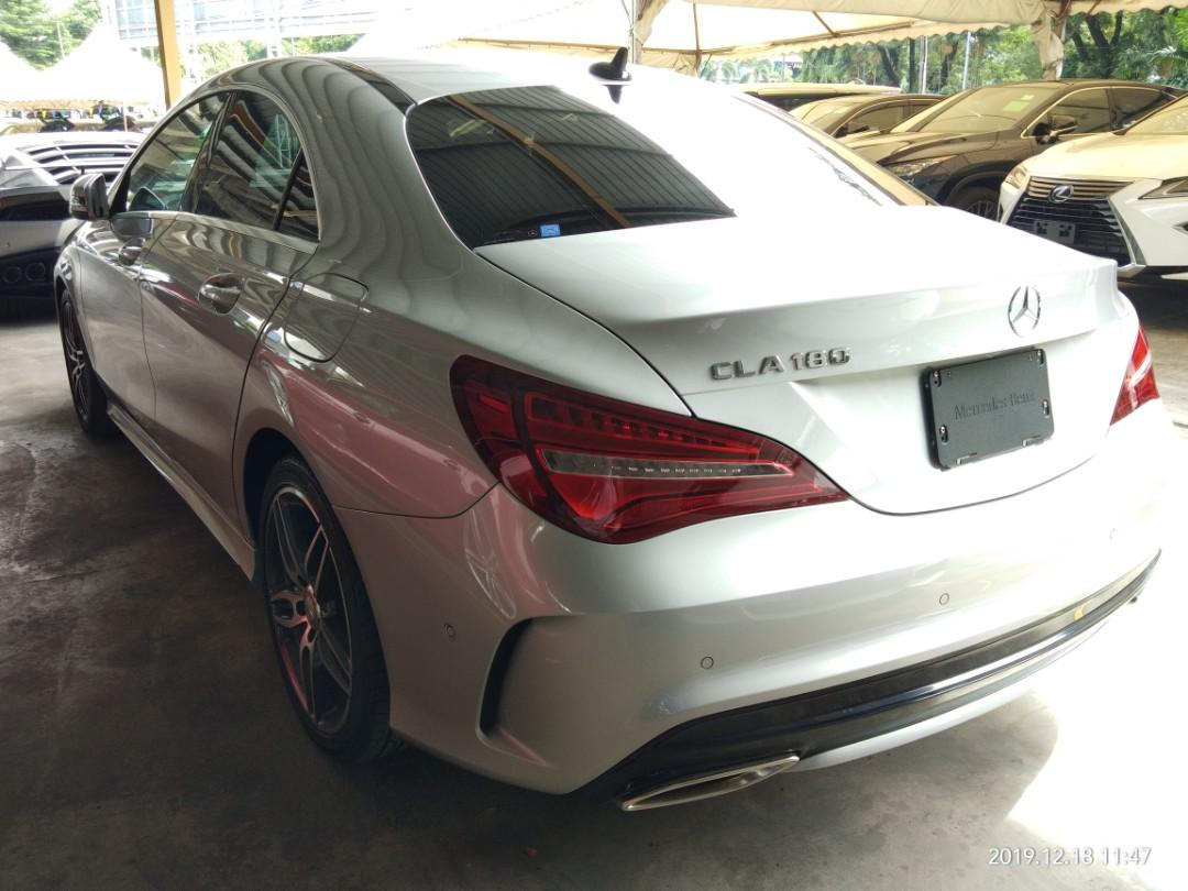 MERCEDES CLA180AMG SPEC 2017~Recon On the road Price RM193,888.88☺👍HP0122367272SENGSENG☺🙏