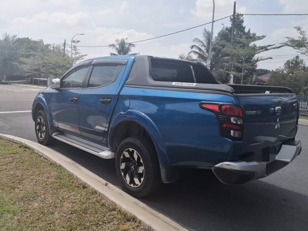 Mitsubishi Triton 2.4 (A) Full Spec 4x4 Pickup Truck Kereta Sewa Selangor KL