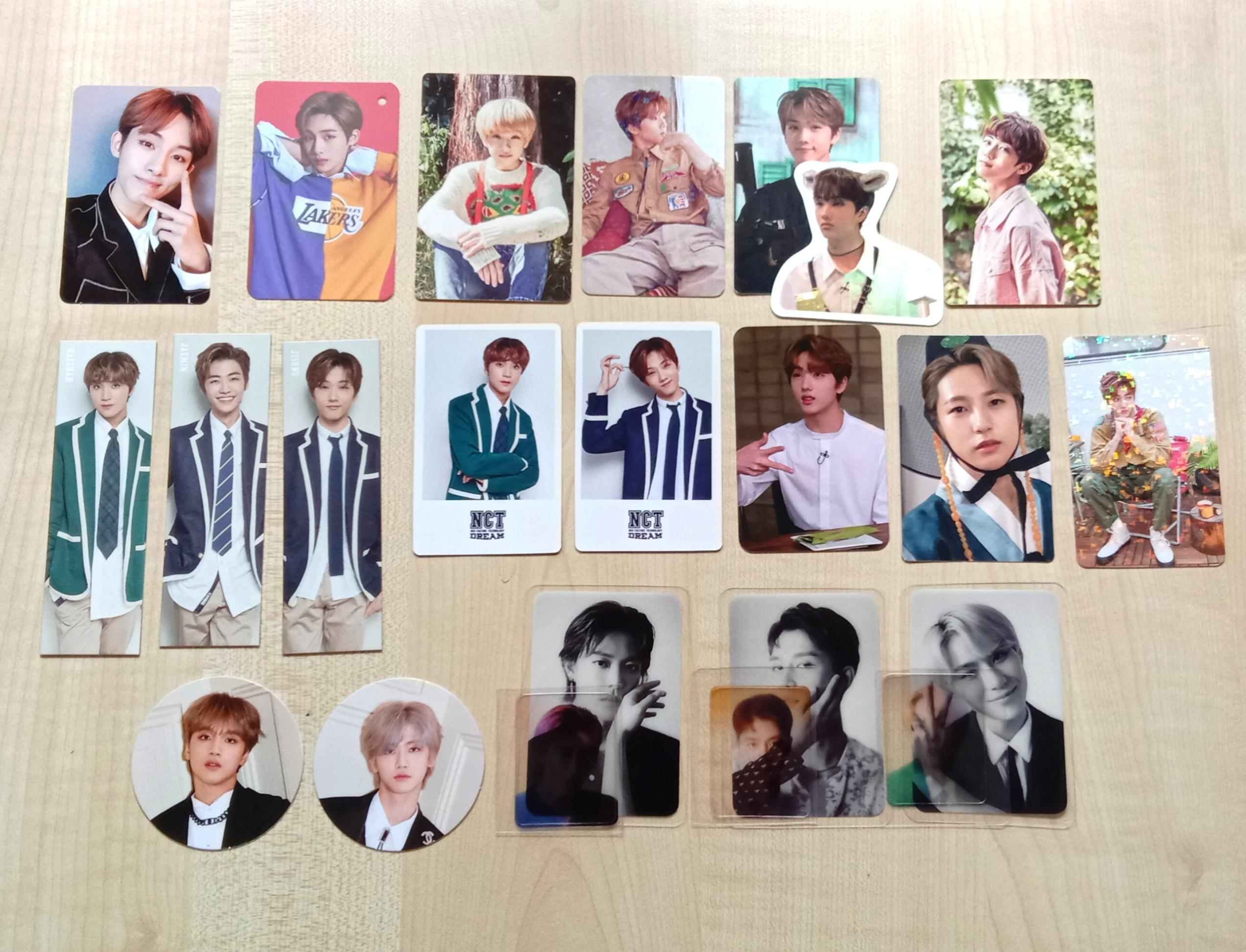NCT 127/NCT DREAM photocards
