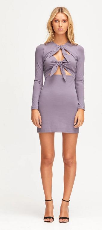NWT sz 12 ALICE MCCALL REAL THING LILAC PURPLE MINI DRESS
