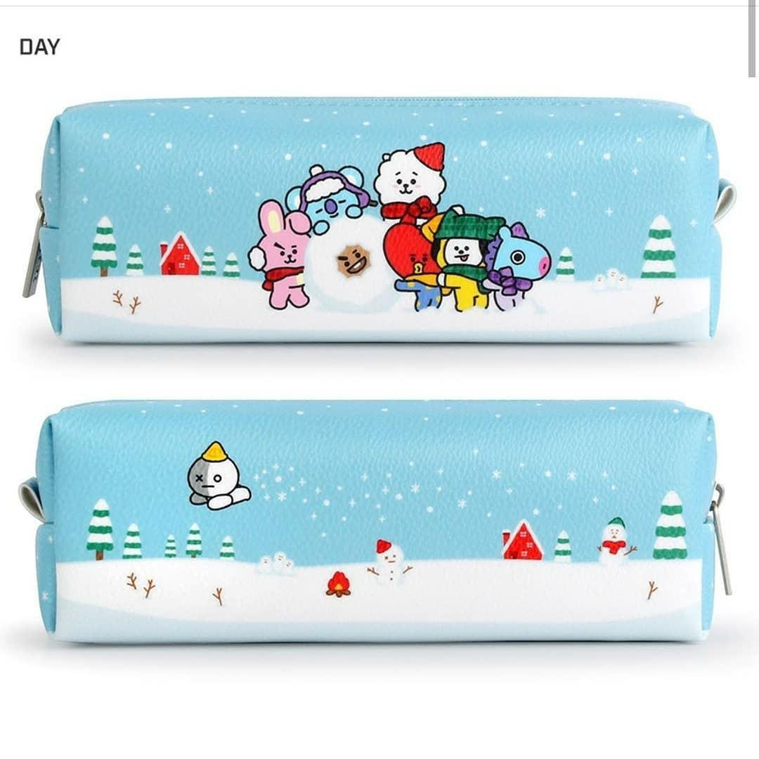 (PO) Official BTS BT21 x Monopoly Winter Edition C-Pocket