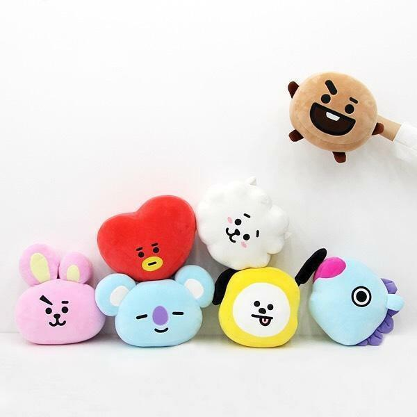 (PO) Official BTS BT21 x Nara Home Deco Mochi Face Cushion