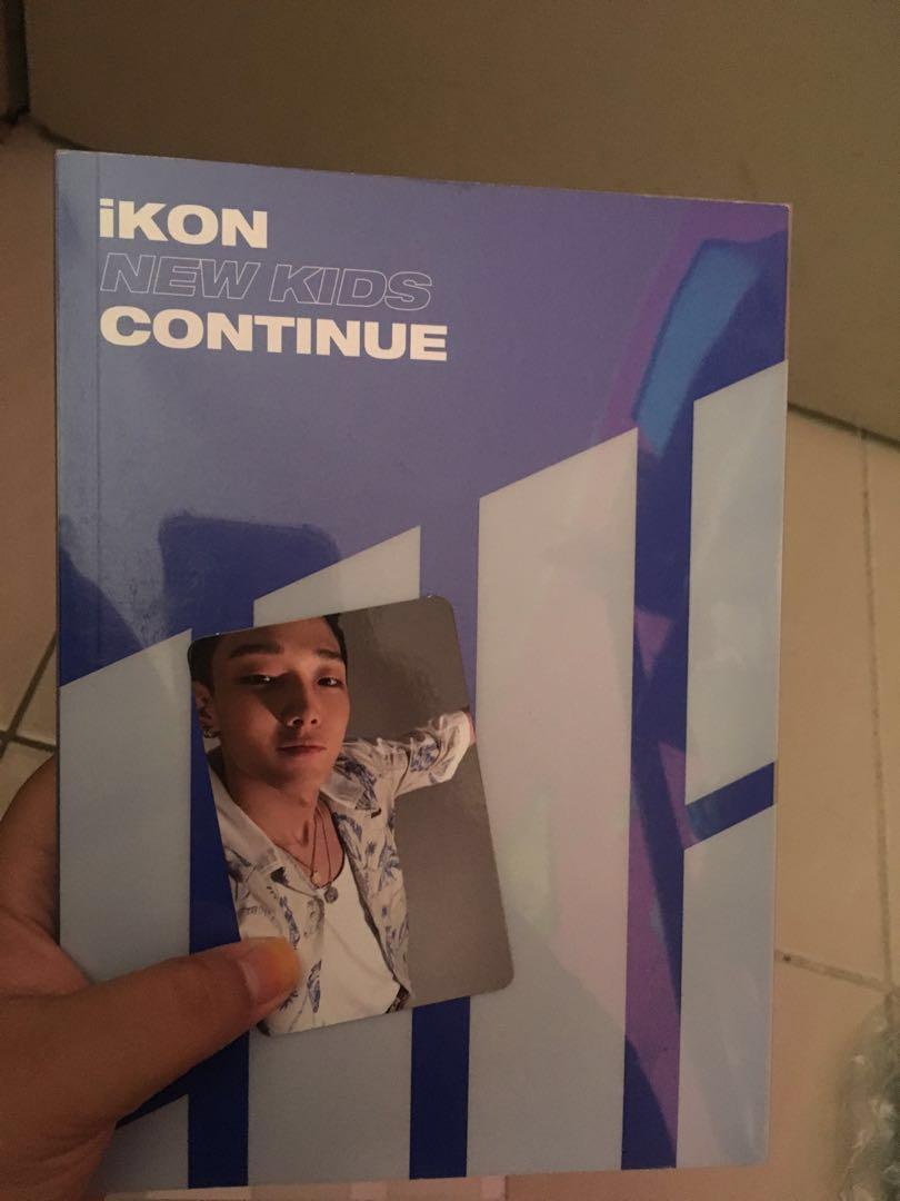 [READYSTOCK] IKON CONTINUE ALBUM with Bobby, BI PC