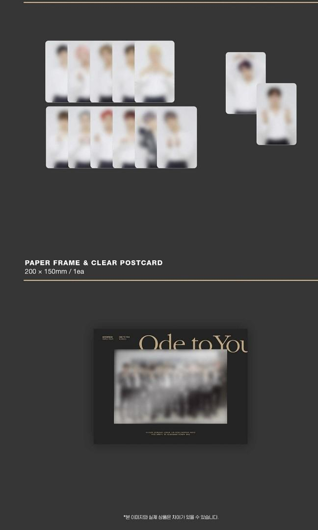 Seventeen World Tour <Ode To You > in Seoul Concert BLU-RAY