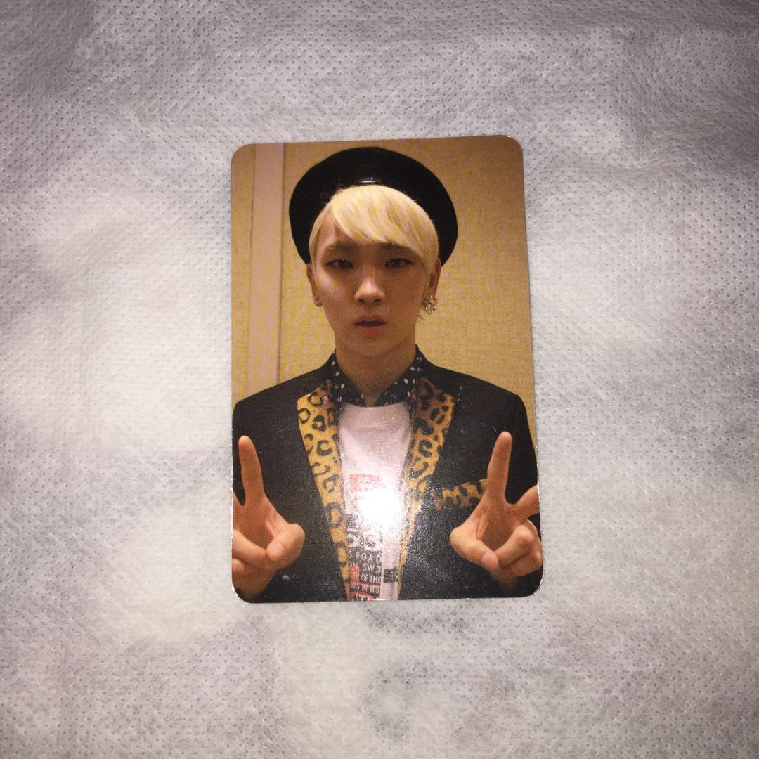 SHINee Key photocard from The misconceptions of us