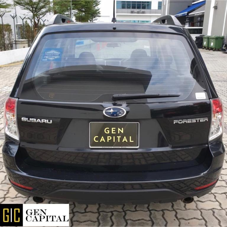 Subaru Forester 2.0A 100% No hidden fees & charges. $500 to driveaway Whatsapp Edwin @87493898 now!!