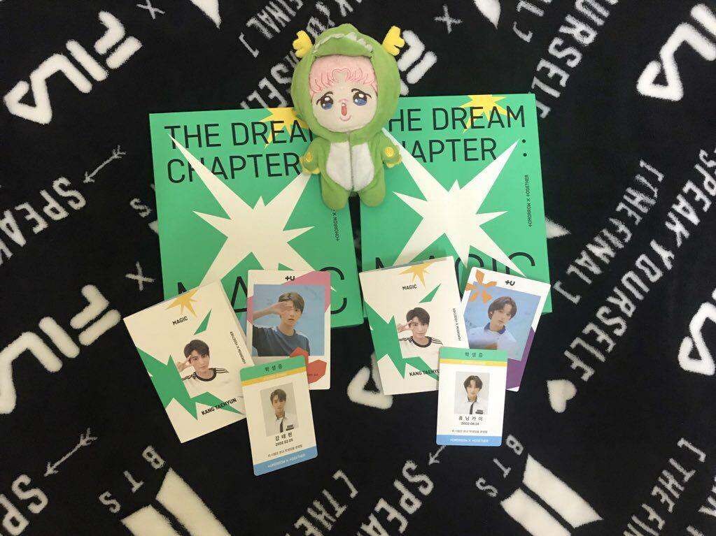 THE DREAM CHAPTER: MAGIC UNSEALED albums ready stock