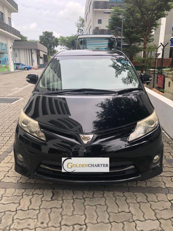 Toyota Estima For Rental! Gojek rebate available. Personal rental available
