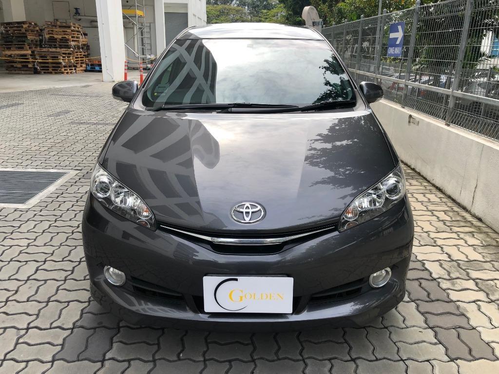 Toyota Wish For Rent ! Gojek weekly rebate | Personal use