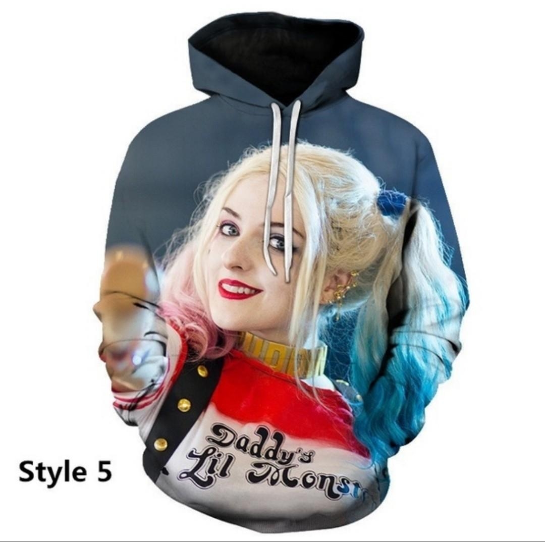 Womens Oversized Marilyn Monroe 3D Print Hoodie Womens