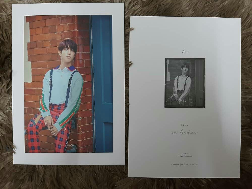 [WTS] postcard STRAY KIDS 1ST PHOTOBOOK STAY IN LONDON LOOSE ITEM