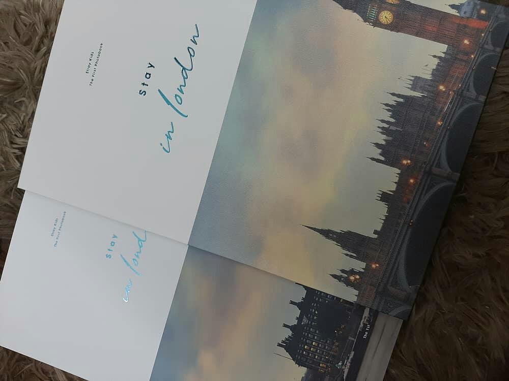 [WTS] photobook only STRAY KIDS 1ST PHOTOBOOK STAY IN LONDON LOOSE ITEM