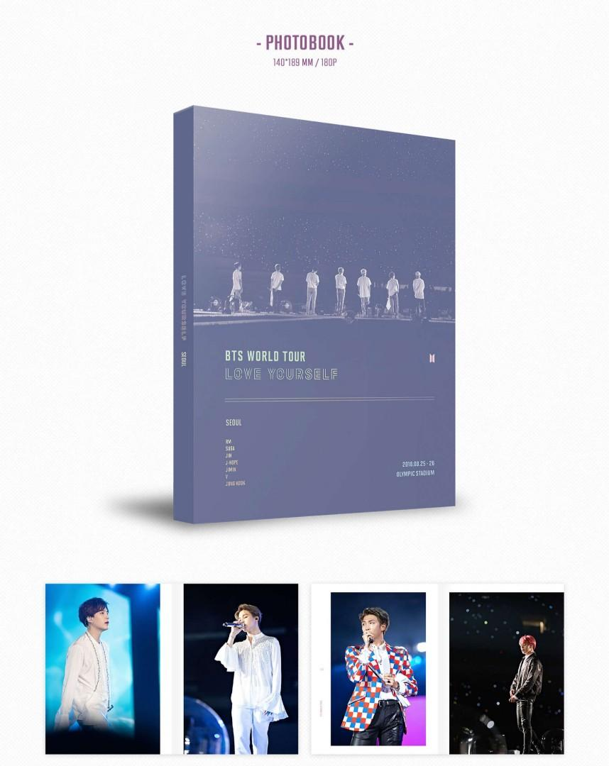 (WTS/LFB) Official BTS Photobook Love Yourself in Seoul Dvd