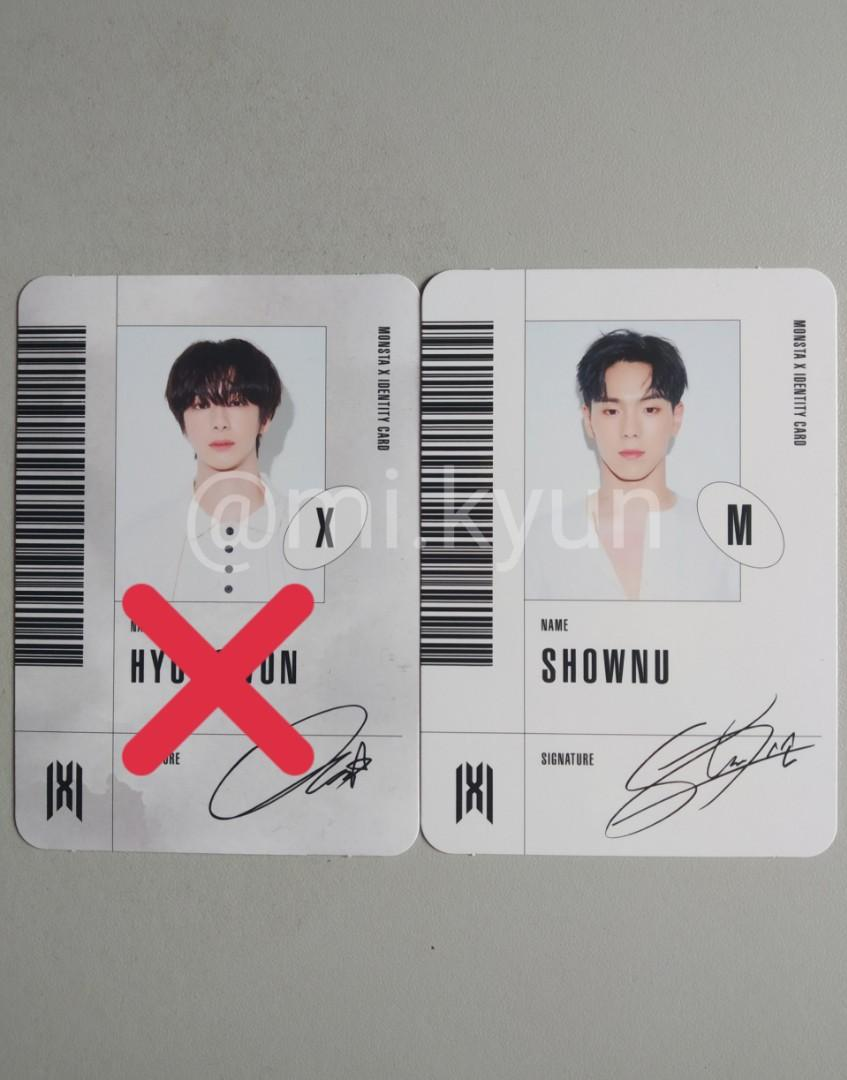 [WTT&WTS] MONSTA X FOLLOW : Shownu ID (M)