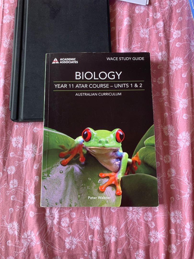 YEAR 11 ATAR textbooks : literature / modern history / biology