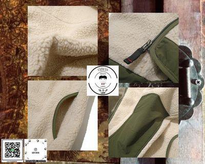 ❮❮誰合普UHF®❯❯ 復古機能 羊羔毛拼接撞色 連帽外套 男女皆可 。3色(網路特賣價$2500)