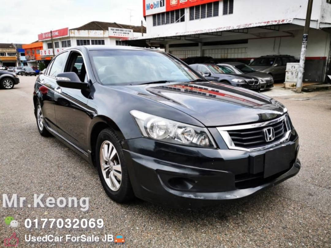 2010TH🚘HONDA ACCORD 2.0AT I-Vtec Vti-L JohorPlate🎉Full Bodykit🚘 Cash💰OfferPrice💲Rm43,500 Only‼Can FULL LOAN🎉 LowestPrice InJB 🎉Call📲 KeongFor More‼🤗