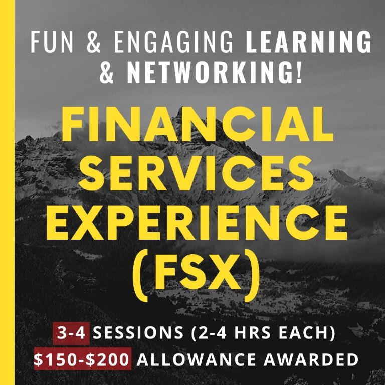 (Alevel,ORD,UNDERGRAD.) Financial Services Experience
