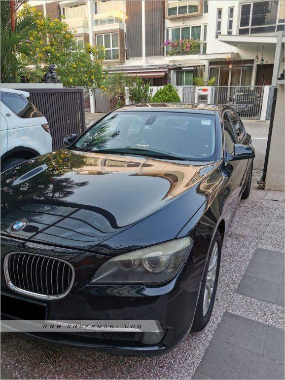 BMW 7 Series 740Li Sunroof