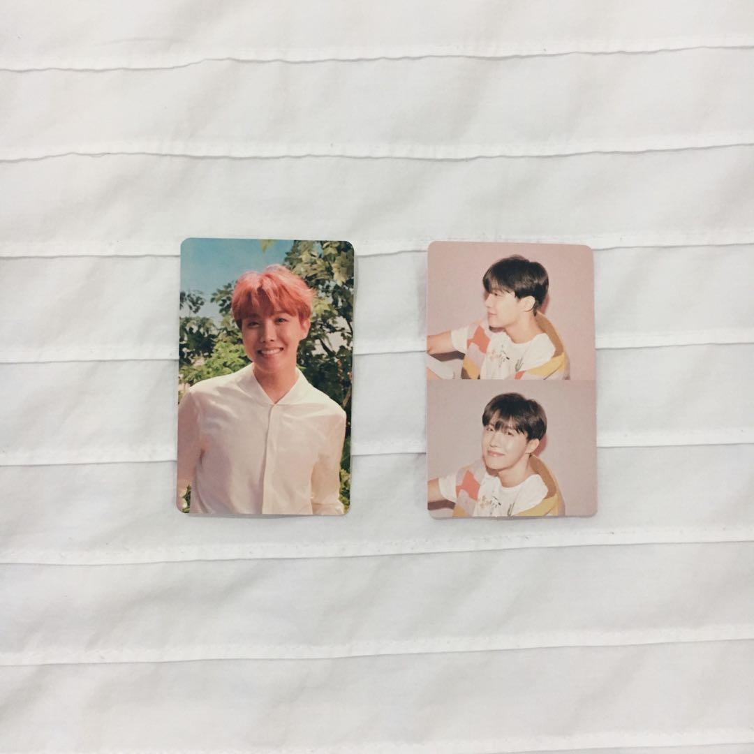 WTS [BTS JHOPE OFFICIAL PC] LY Her and MOTS Persona photocard