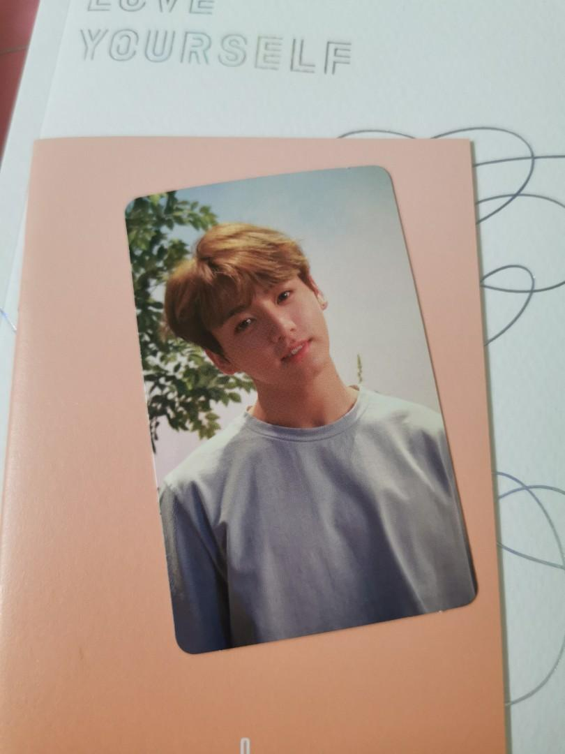 BTS Love Yourself: Her Jungkook photocard (O vers)