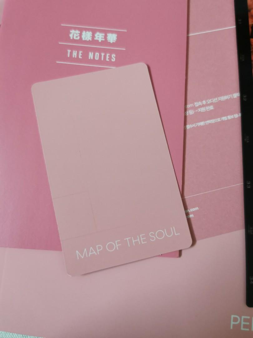 BTS Map of the Soul: Persona Taehyung photocard (Vers 2)