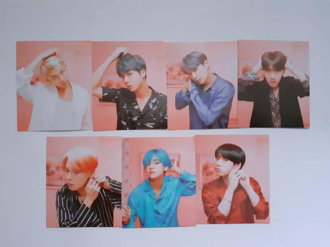 BTS MAP OF THE SOUL: PERSONA MINI LOMOCARDS + BTS LOMOCARDS