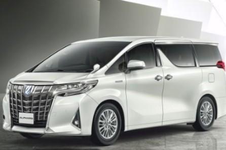 (Charles) Toyota Alphard for car rental like new 2018