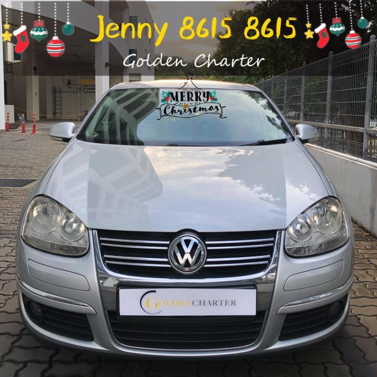 *CHRISTMAS PROMOTION*Volkswagen Jetta 1.4a $56 per day gojek incentive rebate grab phv personal use conti car $500 deposit drive away no upfront rental.