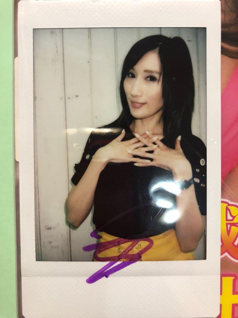 Julia 簽名 拍立得 連DVD